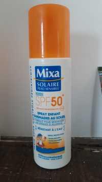 Mixa - Solaire peau sensible - Spray solaire enfant spf50+