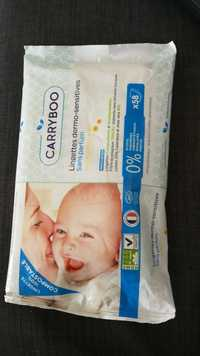 Carryboo - Lingettes dermo-sensitives au calendula bio