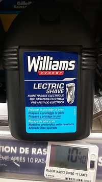 WILLIAMS EXPERT - Gel avant-rasage électrique