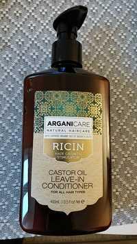 ARGANICARE - Hair growth stimulator - Huile de ricin
