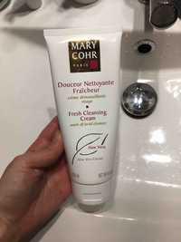 MARY COHR - Crème démaquillante visage