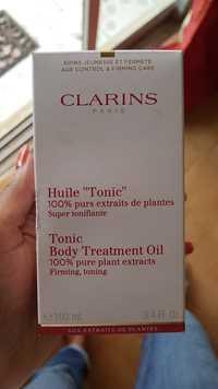 CLARINS - Body treatment oil tonic