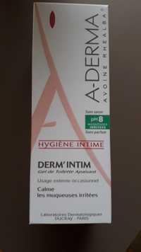 A-Derma - Hygiène intime - Gel de toilette apaisant