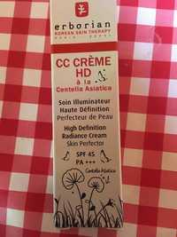 ERBORIAN - CC crème - Soin illuminateur haute définition