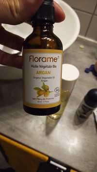 FLORAME - Argan - Huile végétale bio