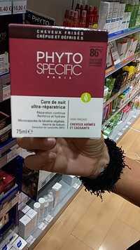 PHYTOSPECIFIC - Cure de nuit ultra-réparatrice pour cheveux abîmés