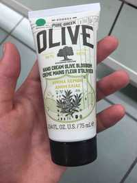 KORRES - Olive - Crème mains fleur d'olivier