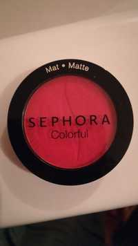 Sephora - Colorful matte