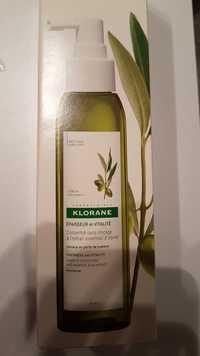 KLORANE - L'Olivier - Concentré sans rinçage à l'extrait essentiel d'olivier