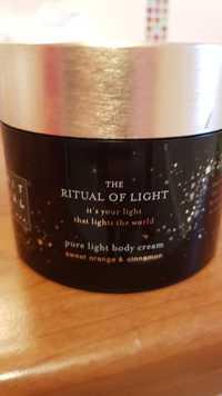 Rituals - The ritual of light- Pure light body cream