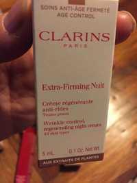 Clarins - Extra-firming nuit - Crème régénérante anti-rides