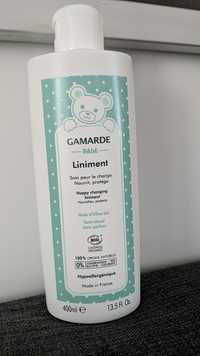 GAMARDE - Bébé liniment - Soin pour le change