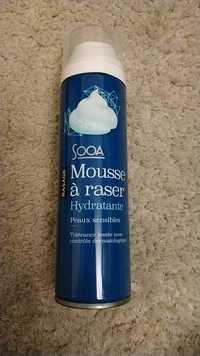 SOOA - Mousse à raser hydratante