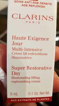 Clarins - Haute exigence jour - Crème lift redensifiante