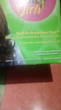 ORS OLIVE OIL GIRLS - Built in protection plus - No lye conditioning hair relaxer system