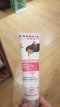 ENERGIE FRUIT - Mégacrème - Soin 3en1 avec ou sans rinçage