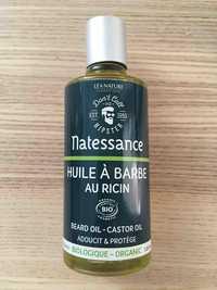 Natessance - Huile à barbe au ricin