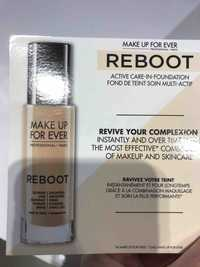 MAKE UP FOR EVER - Reboot - Fond de teint soin multi-actif