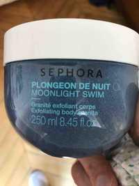 SEPHORA - Plongeon de nuit - Granité exfoliant corps