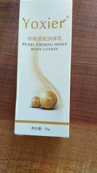 YOXIER - Pearl firming moist - Body lotion