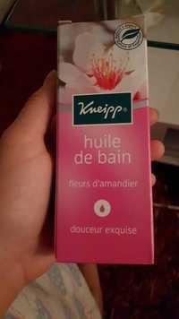 Kneipp - Fleurs d'amandier - Huile de bain