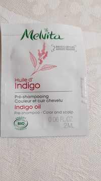Melvita - Huile d'indigo - Pré-shampooing