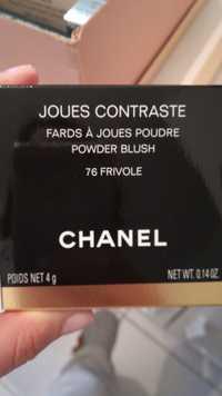 Chanel - Joues contraste - Fards à joues poudre 76 frivole