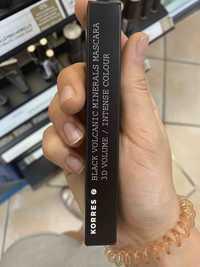 KORRES - Black volcanic minerals mascara 3D volume