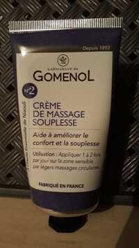 LABORATOIRE DU GOMENOL - N° 2 - Crème de massage souplesse