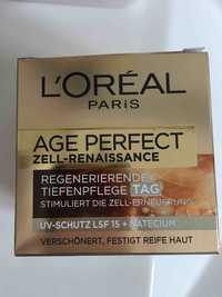 L'Oréal Paris - Age perfect zell-renaissance - Regenerierende tiefenpflege tag
