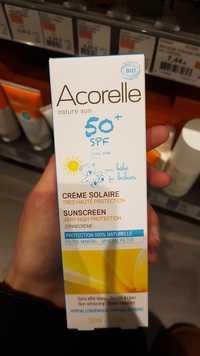 Acorelle - Crème solaire bio pour bébé SPF 50+