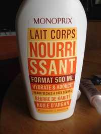 MONOPRIX - Lait corps nourrissant hydrate & adoucit