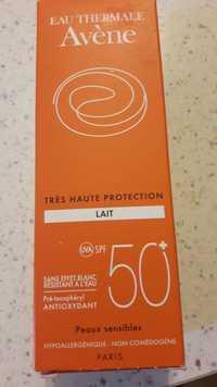 AVÈNE - Lait très haute protection spf 50+