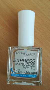 Maybelline - Express Manucure White - Soin blanchissant
