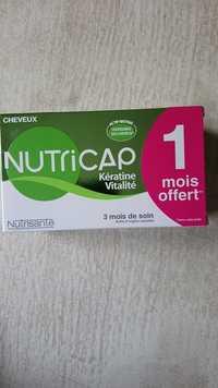 NUTRISANTÉ - Nutricap Kératine vitalité - Croissance des cheveux