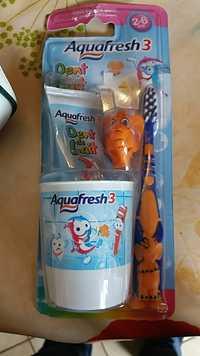 AQUAFRESH - Dent de lait - Kit dentaire 2-6 ans