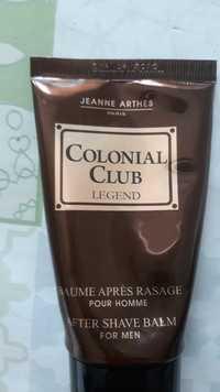 JEANNE ARTHES - Colonial club legend - Baume après rasage pour homme
