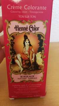 Henné Color - Crème colorante ton sur ton