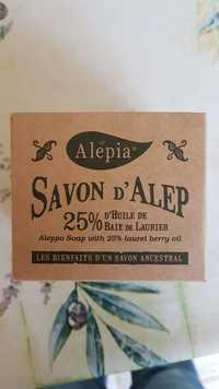 Alepia - Savon d'Alep à l'huile de baie de Laurier