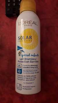 L'Oréal - Solar expertise - Lait brumiseur protection Barrière spécial enfants FPS 40