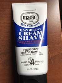 SOFTSHEEN CARSON - Magic - Razorless cream shave