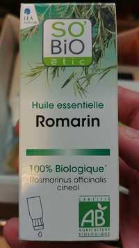 SO'BIO ÉTIC - Huile essentielle romarin bio