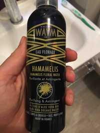 Waam - Hamamélis bio - Eau florale