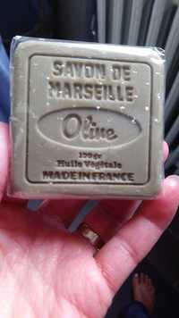 SAVON DE MARSEILLE - Savon olive au beurre de karité et huile d'olive