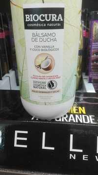 BIOCURA - Bálsamo de ducha con vainilla y coco biológicos