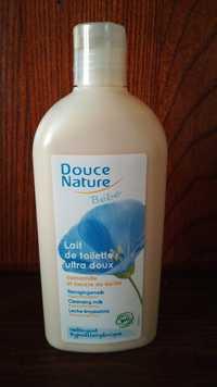 Douce Nature - Lait de toilette bébé ultra doux