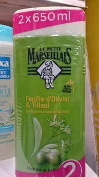 LE PETIT MARSEILLAIS - Feuille d'olivier & tilleul - Gel douche & bain extra doux