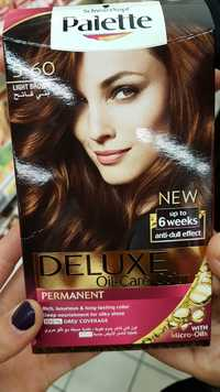 Schwarzkopf - Palette deluxe oil-care color - Permanent 5-60 light brown