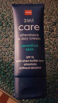 Hema - 2 in 1 Care - Aftershave & day cream sensitive skin
