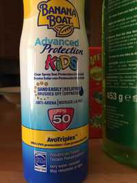 Banana Boat - Advanced protection kids FPS 50